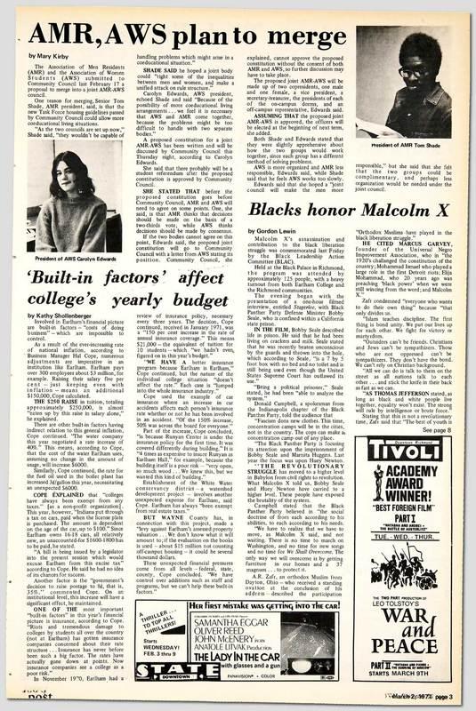 Blacks Honor Malcolm X