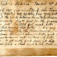 September 28, 1837 Diary Entry