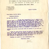 Correspondence with William Henry Fox